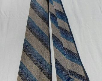 Rare 1920s 1930s Martha Berry Hand Woven Tie
