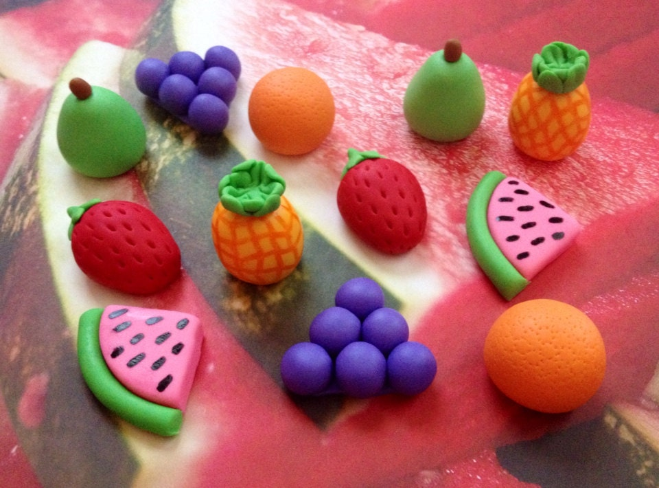 fruit cake decoration fondant fruit foodie cupcake cake decorations 4391