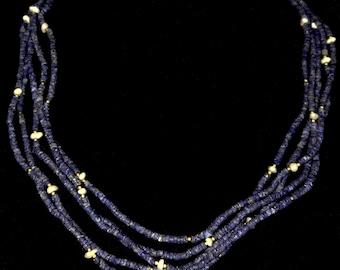 Lapislazuli and Pearls Necklace