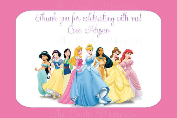 It is an image of Adaptable Free Printable Princess Birthday Cards