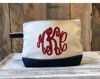 Monogrammed Cosmetic Bags Monogrammed Overnight Bag Monogram Makeup Bag  Personalized Cosmetic Bags For Bridesmaids Canada