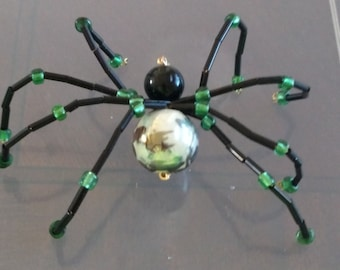 Long legged beaded spider