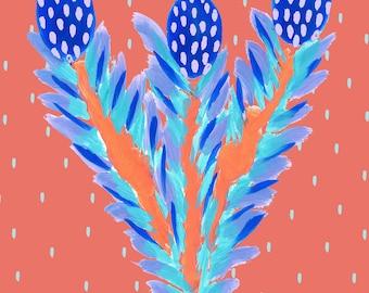 Jungle Digital Art Print