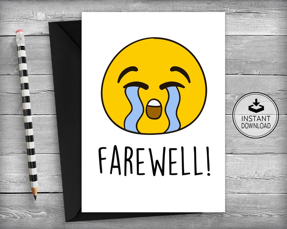 farewell cards new job cards goodbye cards going away