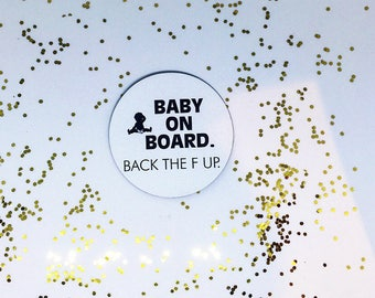 Baby On Board Magnet Baby Car Magnet