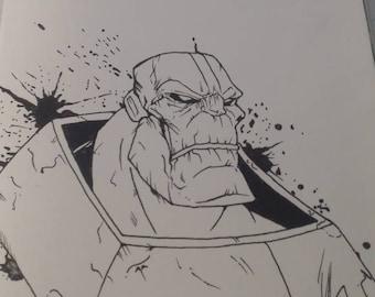 Apocalypse Sketch cover