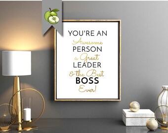 leader appreciation retirement leader gift female boss a