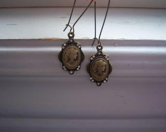 Cameo Earrings -