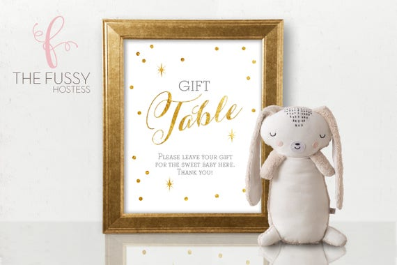 Wedding Gift Signs: Gift Table Sign Baby Shower Gifts Sign Bridal Shower Gifts