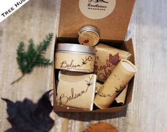 Valentine Gift Set / Gift Box Valentine  Gift Set Valentine Gift Box Holiday  Tree Hugger gift / gift for dad / unique gift set
