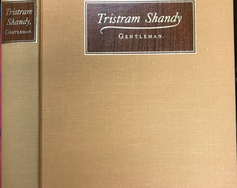 The Life & Opinions of Tristram Shandy, Gentleman by Laurence Sterne, Ill. by T. M. Cleland, The Heritage Press, 1963