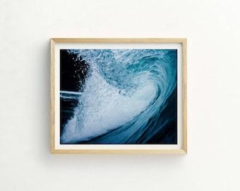 Wave Print | Wave Art | Ocean Print | Ocean Photograph | Coast Print | Coast Art | Wave Picture | Wave photography | Contemporary Print