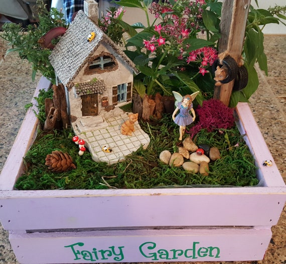 Hollybrook House with Fairy Paisley Garden Kit - (Plants and Soil not included)