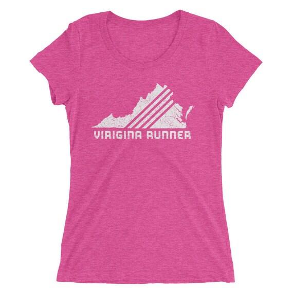 Women's Virginia Runner Triblend T-Shirt - Run Virginia - Women's Short-Sleeve Shirt