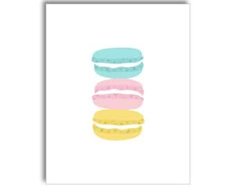 Macarons SWEETS Printable