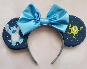 Monsters Inc themed ears