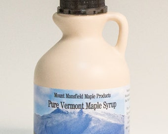 Mansfield Maple Pint Pure Vermont Maple Syrup (Choice of Grade)