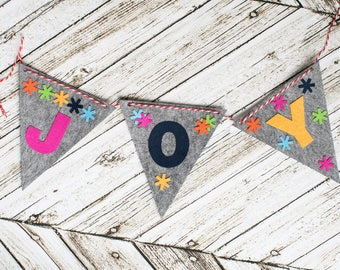 JOY Banner Craft Kit