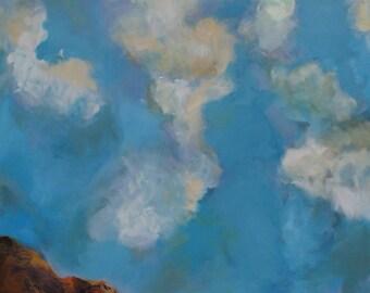 """Original Oil on Canvas Painting """"Return"""""""