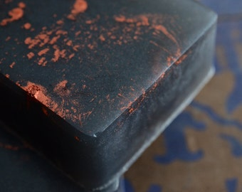 Cinders Soap, Woodsmoke, Burning Leaves, Beeswax, Charcoal Soap
