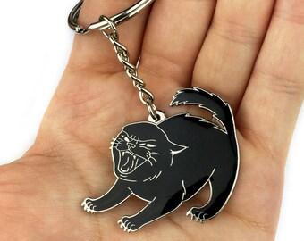 Sassy Kitten Keychain