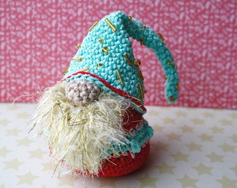Christmas Gnome Crochet pattern, Christmas decor amigurumi gnome crochet pattern (268) INSTANT DOWNLOAD