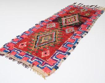 WILDCHILD | Handmade Bohemian Moroccan Boucherouite Rug