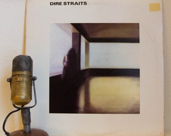 "Dire Straits (with Mark Knopfler) Vinyl Record Album 1970s Classic Rock and Roll Guitar Hero ""Dire Straits"" (1978 Wb w/""Sultans Of Swing"")"