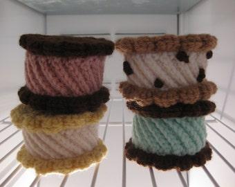 Petal Ice Cream Cookie Sandwich