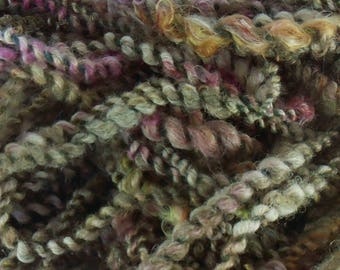 sous bois : art yarn handspun