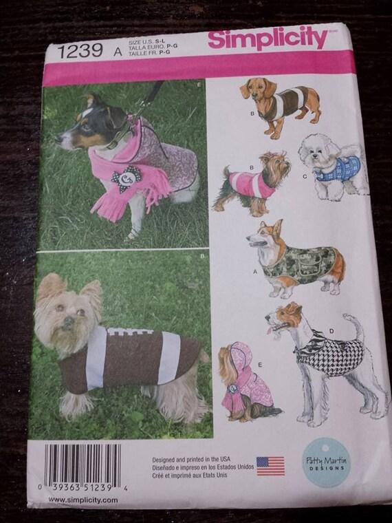Hundebekleidung, Hundemantel, Einfachheit, Schnittmuster von ...