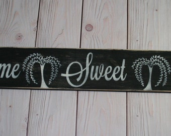 Home Sweet Home sign - Home Sweet Home - Housewarming gift - Home sign - Farmhouse sign - Home decor - Wood sign - Farmhouse decor - Wooden