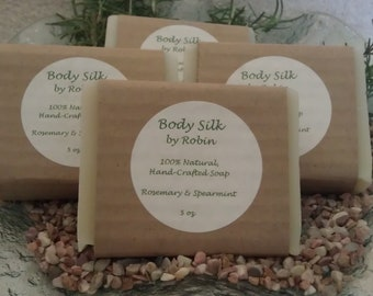 100% Natural, Organic, Hand-Crafted Soaps - 4-pack