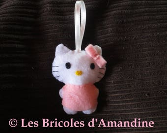 Hello Kitty plush felt