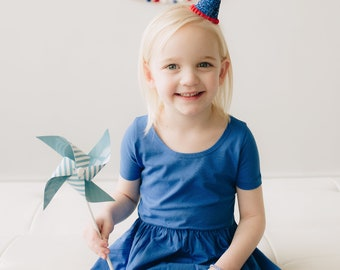 Fourth Of July Kids || Independence Day Accessory || Red White Blue Hat || Fourth of July Parade