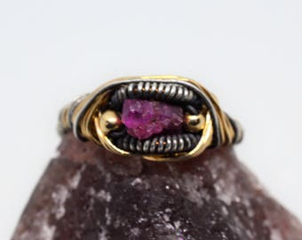 Ruby Ring  (Size 6.75)