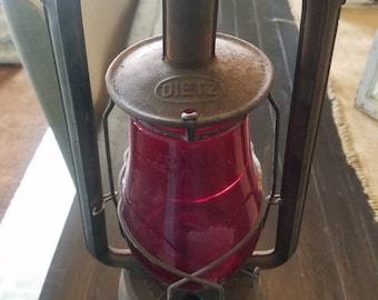 1923 Dietz Kerosene Railroad Lantern