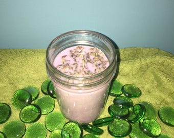 Lavender 8 oz Scented Soy Wax Candle