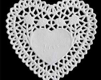 Heart 10 cm_PD7 paper doilies