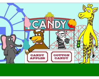 Zoomania - Candy Stand