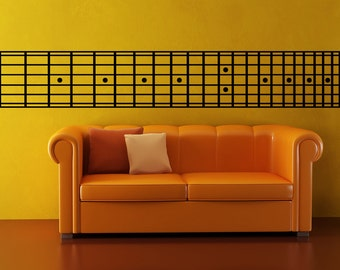 Vinyl Wall Decal Sticker Guitar Chords OSMB888s