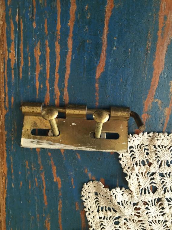 Large Unique Vintage Brass Hinge Ste&unk Hinges Salvage Old Brass Hinges Vintage Hardware Door Hardware Vintage Hinges Pull Handle from ... & Large Unique Vintage Brass Hinge Steampunk Hinges Salvage Old ...