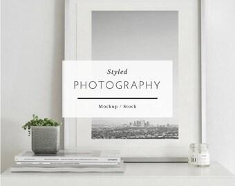 Minimalist frame, Frame mockup, white frame mockup, frame mockup, mockup, frame mock up, white frame mockup, poster mockup