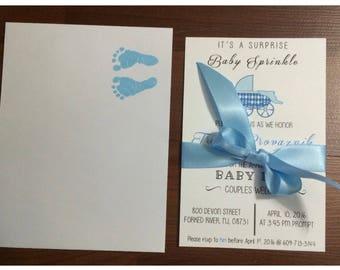 Baby shower Baby sprinkle invites!