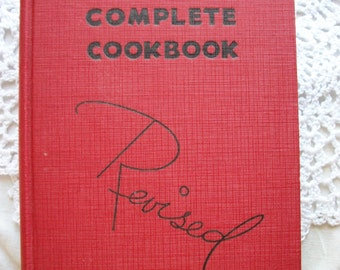 The Revised Rumford Complete Cook Book 1938 Edition Rumford Chemical Co., Rumford, R.I. One to have!