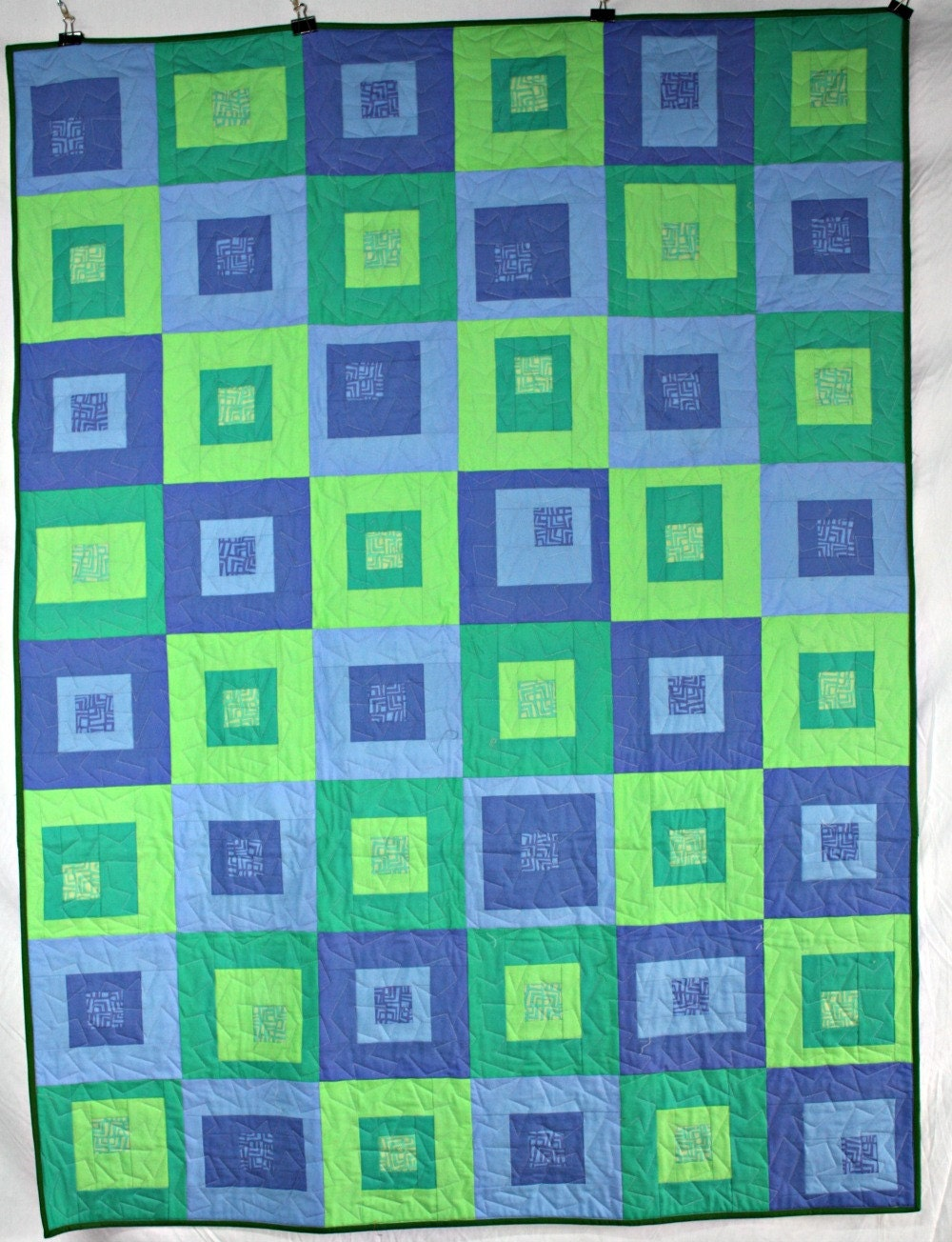 and lap pdnp blue modern quilt green listing il boxes fullxfull throw