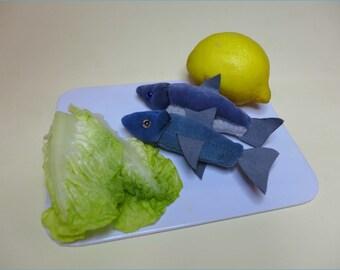 Fische Schnittmuster zur Deko oder für den Kaufmannsladen