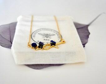 Astro Pendant Chain Necklace