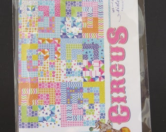 Me and My Sister Designs - Circus Quilt Pattern - Jelly Roll Friendly