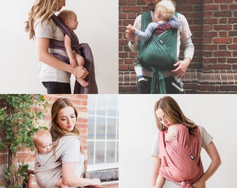 xoxo buckle wrap baby carrier - gently used demo wraps